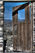 Abandoned Houses Metal Prints - The Lockless Door Metal Print by Heiko Koehrer-Wagner