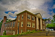 Western Carolina University Framed Prints - the Loft at Mars Hill College sideview Framed Print by Ryan Phillips