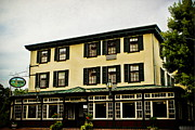 Inns Prints - The Logan Inn Print by Colleen Kammerer