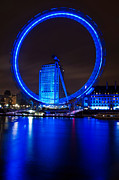Luis Santos - The London Eye and River...