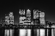 London Skyline Art - The London Skyline by Ian Hufton