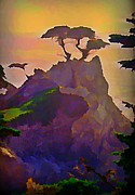 Halifax Art Work Digital Art - The Lone Cypress by John Malone