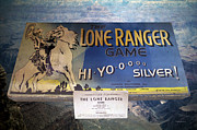 Card Players Prints - The Lone Ranger Board Game Print by Thomas Woolworth