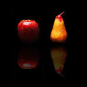 All - The Lonely Apple And Tears Of A Sad Pear  by Andee Photography