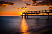 Anthony Morganti - The Lonely Pier at Sunset