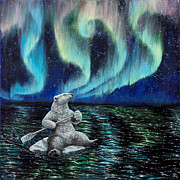 Anthropomorphic Paintings - The Longest Night by Beth Davies