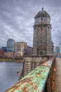 The Longfellow Bridge - Boston Print by Joann Vitali