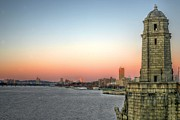 Bean Town Photo Prints - The Longfellow Bridge  Print by JC Findley
