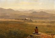 Famous Artists - The Lookout by Albert Bierstadt