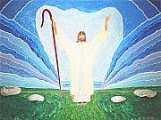 The Lord Is My Shepherd Eee011 Print by Daniel Henning