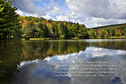 Lakes Digital Art - The Lords Prayer by Christina Rollo