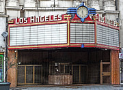 The Los Angeles Theatre Marquee Print by Gregory Dyer