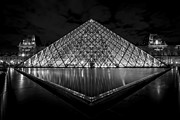 Sven Brogren - The Louvre at night in...