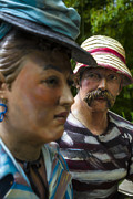 For Photo Originals - The love in his eyes at Grounds for Sculpture by Eduard Moldoveanu