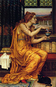 Evelyn De Posters - The Love Potion Poster by Evelyn de Morgan