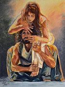 Prophetic Paintings - The Lover and the Beloved by Carol Sheli Cantrell