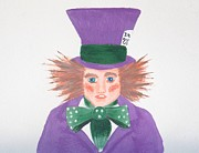 Mad Hatter Prints - The Mad Hater Of Modern Day  Print by J D  Fields