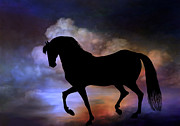 Beauty Digital Art Originals - The magic horse..... by Andrzej  Szczerski