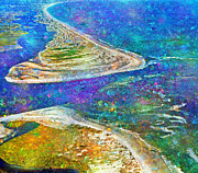 Waterway Digital Art - The Magic of Topsail by Betsy A Cutler East Coast Barrier Islands