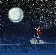 Magical Night Print by Graciela Bello