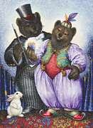 Bears Paintings - The Magician by Lynn Bywaters