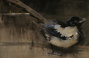 The Magpie Print by Joseph Crawhall