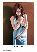 Clothed Figure Pastels Prints - The Maiden prints only Print by Joseph Ogle