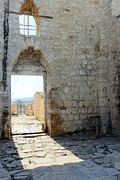 Ruins Originals - The Main Door to St.George Ruins by Munir Alawi