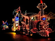 Magic Kingdom Photos - The Main Street Electrical Parade by Benjamin Yeager