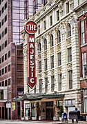 Texas Theatre Framed Prints - The Majestic  Framed Print by Heather Applegate