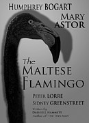 Film Noir Digital Art - The Maltese Flamingo by Olaf Del Gaizo