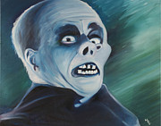Universal Monsters Framed Prints - The Man behind the Monster Framed Print by Matthew Young