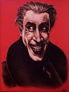 The Joker Pastels - The Man Who Laughs by Brent Andrew Doty