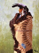 Bison Digital Art - The Mandan Robe by Roger D Hale