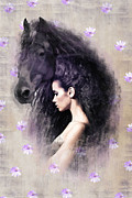 Friesian Posters - The Mane Poster by Graphicsite Luzern