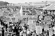 60s Photos - The March for Civil Rights by Benjamin Yeager