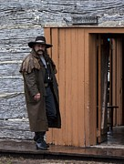 Wild Bill Hickok Photos - The Marshall by Elaine  OBrien