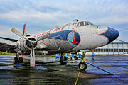 Eastern Air Lines Prints - The Martin 404 - Eastern Airlines Print by Lee Dos Santos