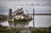 Old Shipwreck Photos - The Mary D. Hume by Heather Applegate