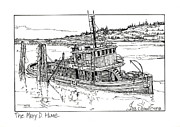 The Mary D. Hume Print by Ira Shander