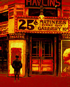 Theaters Prints - The Matinee - 20130207 Print by Wingsdomain Art and Photography