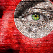 Armageddon Prints - The Mayan Eye Print by Semmick Photo