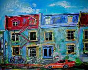 Montreal Memories. Art - The McGill Ghetto by Michael Litvack