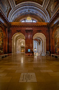 Stephen A. Schwarzman Building Posters - The McGraw Rotunda At The New York Public Library Poster by Susan Candelario