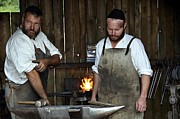 Smithy Photos - The Medieval Blacksmith in Bavaria by Elzbieta Fazel
