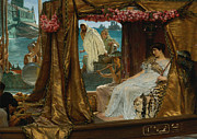 Lawrence Alma-Tadema - The Meeting of Antony and Cleopatra 41 BC by Lawrence Alma-Tadema
