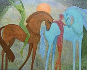 Freedom Paintings - The Meeting Place by Jennifer Baird