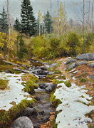 Wonderful Painting Originals - The Melt by Scott Harding