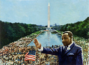 I Have A Dream Posters - The Memorial Speech Poster by Colin Bootman