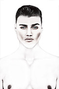 Make-up Prints - The Men One Print by Yosi Cupano